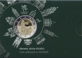 Litauen 2 Euro 2017 Vilnius im Blister