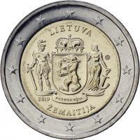 Litauen 2 Euro 2019 Zemaitija