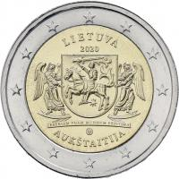 Litauen 2 Euro 2020 Aukstaitija (Region)