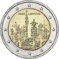 Litauen 2 Euro 2020 Berg der Kreuze