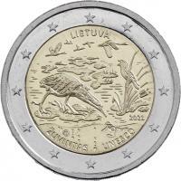 Litauen 2 Euro 2021 Biosphärenreservat