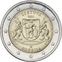 Litauen 2 Euro 2021 Dzukija (Region)