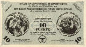Litauen / Lithuania LT 12d: 10 Punkte 30.4.1943 (1)