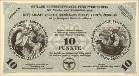 Litauen / Lithuania LT 16b: 10 Punkte 30.4.1944 (1)