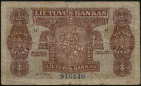 Litauen / Lithuania P.13a 1 Litas 1922 (4)
