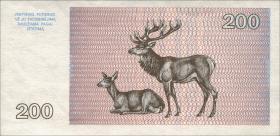 Litauen / Lithuania P.45 200 Talonu 1993 (1)