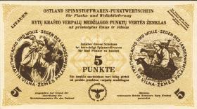 Litauen / Lithuania LT 11d: 5 Punkte 30.4.1943 (1)