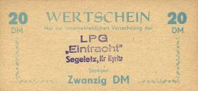 """LPG Segeletz """"Eintracht"""" 20 DM (1)"""