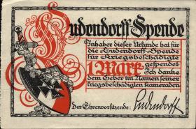 Ludendorffspende 1 Mark (1)