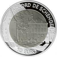 Luxemburg 10 Euro 2010 Schengen (Titan)