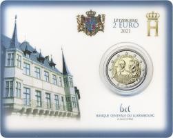 Luxemburg 2 Euro 2021 100. Geburtstag des Großherzogs Jean Coincard