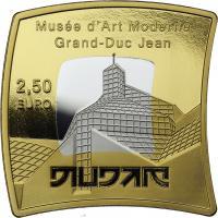 Luxemburg 2,50 Euro 2016 MUDAM