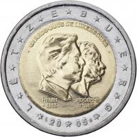 Luxemburg 2 Euro 2005 Großherzoge
