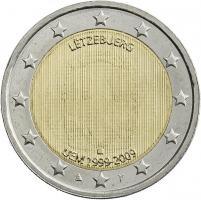 Luxemburg 2 Euro 2009 WWU