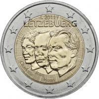 Luxemburg 2 Euro 2011 Großherzog Jean