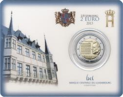 Luxemburg 2 Euro 2013 Nationalhymne Coincard
