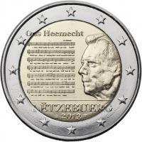 Luxemburg 2 Euro 2013 Nationalhymne