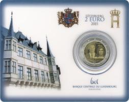 Luxemburg 2 Euro 2015 15 Jahre Thronbesteigung Henri Coincard