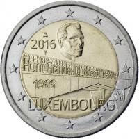 Luxemburg 2 Euro 2016 50 Jahre Großherzogin-Charlotte-Brücke
