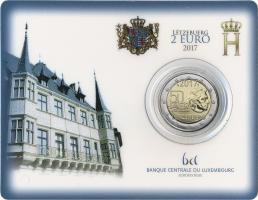 Luxemburg 2 Euro 2017 50 Jahre Freiwilligenarmee Coincard