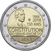 Luxemburg 2 Euro 2018 150 Jahre Verfassung