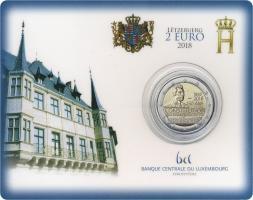 Luxemburg 2 Euro 2018 150 Jahre Verfassung Coincard