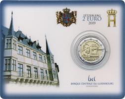 Luxemburg 2 Euro 2019 100 Jahre Allgemeines Wahlrecht Coincard
