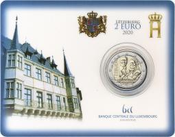 Luxemburg 2 Euro 2020 Geburt Prinz Charles Coincard