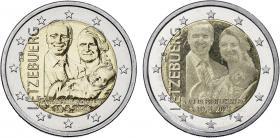 Luxemburg 2 x 2 Euro 2020 Geburt Prinz Charles