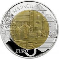 Luxemburg 5 Euro 2011 (Niob) Chateau De Mersch