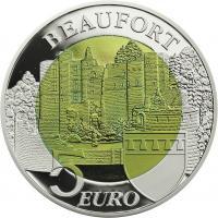 Luxemburg 5 Euro 2013 (Niob) Schloß Beaufort