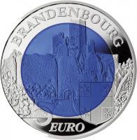 Luxemburg 5 Euro 2015 Niob Chateau de Brandenbourg