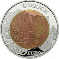 Luxemburg 5 Euro 2018 (Niob) Chateau de Koerich