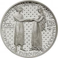 Luxemburg 700 Cent 2010 Hochzeit
