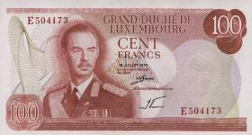 Luxemburg / Luxembourg P.56a 100 Francs 1970 (1/1-)