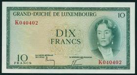 Luxemburg / Luxembourg P.48 10 Francs (1955) (1)