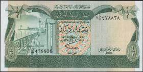 Libyen / Libya P.43b 1/2 Dinar (1981) (1)