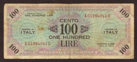 Italien / Italy P.M21c 100 Lire 1943 A (4)