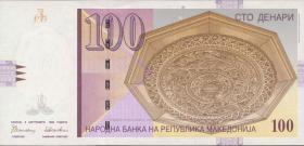 Mazedonien / Macedonia P.16a 100 Denari 1996 (1)