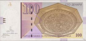 Mazedonien / Macedonia P.16d 100 Denari 2002 (1)