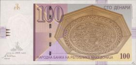 Mazedonien / Macedonia P.16e 100 Denari 2004 (1)