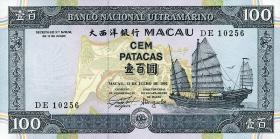 Macau / Macao P.068 100 Patacas 1992 (1)