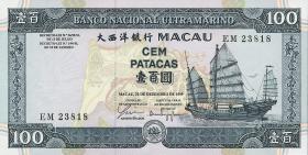 Macau / Macao P.073 100 Patacas 1999 (1)