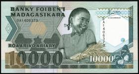 Madagaskar P.74a 10000 Francs = 2000 Ariary (1988-93) (1)