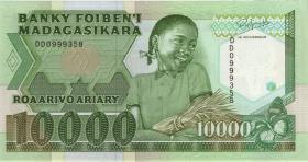 Madagaskar P.74b 10000 Francs = 2000 Ariary (1988-93) (1)