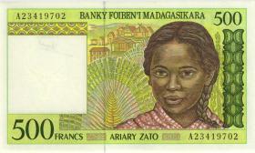Madagaskar P.75a 500 Francs (1994) (1)