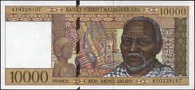 Madagaskar P.79a 10000 Francs (1995) (1)