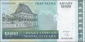"""Madagaskar P.92b 10000 Ariary (2009) ohne """"Francs"""" (1)"""