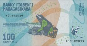 Madagaskar P.neu 100 - 1000 Ariary (2017) (1) 4 Werte
