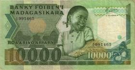 Madagaskar P.70 10000 Francs = 2000 Ariary (1988-87) (3)